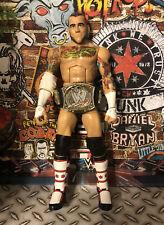 WWE Elite CM Punk Best Of PPV w World Title Belt GREAT SHAPE