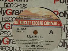"""ELTON JOHN *RARE 7"""" 45  ' PASSENGERS ' 1984 VGC+"""
