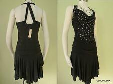 NWT VERTIGO PARIS Gypsy People Studded Asymmetric Hem Free spirit Dress S $160