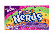 WILLY WONKA NERDS RAINBOW THEATER SIZE BOX 5 OZ CANDY FRESH STOCK!!