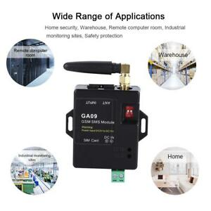 GA09 Wireless 8 Kanal Modul Antenne Home Security GSM Alarm SMS Alarmanruf♥
