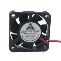 12V 40mm 4010S DC Brushless 2-pin 40x40x10mm CPU / Laser / Printer Cooling Fan