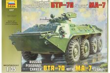 ZVEZDA 3587 1/35 Russian Personnel Carrier BTR70 with MA-7 Turret