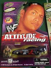 """JERRY TOLIVER WWF WRESTLING """"THE ROCK"""" 1/64 NHRA FUEL FUNNY CAR DIE CAST"""