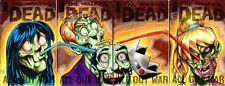 Walking Dead #115 Afterlife With Archie 4pc Set B Foreman Original Sketch Art