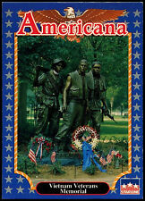 Vietnam Veterans Memorial #185 Americana Starline 1992 Trade Card (C265)