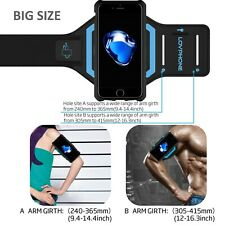 iPhone 7 Armband & Armour Case Set Sport Running Armband Large