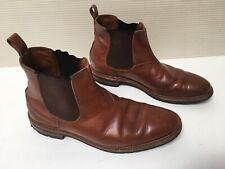 Men's Allen Edmonds Ashbury Brown Chelsea Boots Size 9D