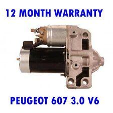 PEUGEOT 607 3.0 V6 24V 2000 2001 2002 2003 2004 - 2015 RMFD STARTER MOTOR