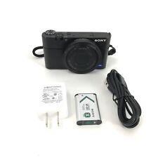 Sony Cyber-shot DSC-RX100 20.2 MP DSC-RX100 Black Digital Camera #U3009