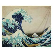 Wall Hanging Carpet Wave Pattern Tapestry Yoga Beach Mat Home Tablecloth