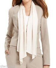 CALVIN KLEIN $159 NEW Draped Scarf Neckline Crop Blazer Jacket Plus 22W QCO