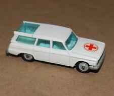 Vintage Corgi Juniors Studebaker Red Cross Station Wagon Ambulance Toy Car