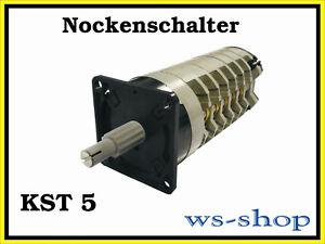 Niveaux Interrupteur Commutateur Pour STS 5 Sueur transformateur RDA Cames commutateur pas 5.1!