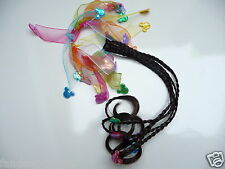 Minnie Mouse plaited fake hair ponio