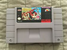 SNES Spider-Man and The X Men ARCADE'S REVENGE Cart Only WORKS