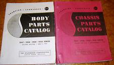 1947 1948 1949 1950 Studebaker Chassis Body Parts Catalog Champion Commander