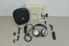 LightSpeed Zulu Pilot Aviation Headset Active Noise Reduction w Case Bluetooth