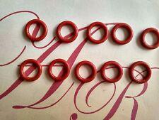 10pcs 8 MM x 5 mm x 1.5 mm Silicone O-Ring Oil D'étanchéité Rondelles œillets
