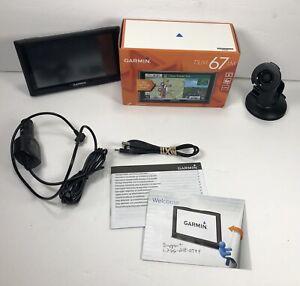 Garmin Nuvi 67 LM GPS Lifetime Maps Charger, Mount, Box Bundle