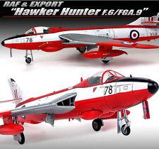 "1/48 Raf&Export ""Hawker Hunter F.6/FGA.9"" / Academy Model Kit / 12312"