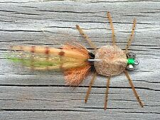 Fly Fishing Flies (Bonefish Redfish Permit Trout) Senior Raghead Crab (6 flies)