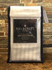 FIELDCREST Satin-Stitch Damask King Size Pillowcase Set Silver Springs