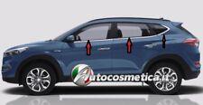 MODANATURE ADESIVE ACCIAIO CORNICE 6 FINESTRINI CROMATA HYUNDAI TUCSON 2015+^^^