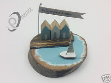 East Of India Quayside Follow Your Dreams Wooden Diorama Ornament