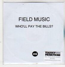 (ER336) Field Music, Who'll Pay The Bills? - 2011 DJ CD