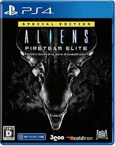 Presale PS4 ALIENS FIRETEAM ELITE SPECIAL ESITTION Japan NEW For Playstation 4