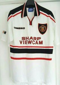Manchester United FC Vintage 1997/1999 Football/Soccer Shirt/Jersey - Adult - L