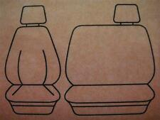 PLAIN BROWN VELOUR SEAT COVER FIT TOYOTA LANDCRUISER 60, 70, 80 SERIES
