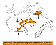 AUDI OEM 08-15 TT Quattro FENDER-Sidemember Assembly Left 8J0805111F
