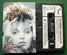 Pat Benatar Seven The Hard Way Cassette Tape - TESTED
