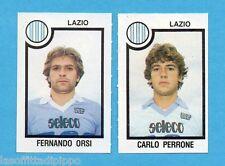 PANINI CALCIATORI 1982/83 -Figurina n.460- ORSI+PERRONE - LAZIO -Rec