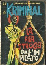 KRIMINAL N° 43 (Corno, 1966)