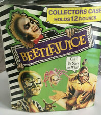 Beetlejuice Collector's Case 1990 Sealed Holds 12 Figures Never Opened