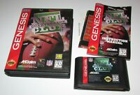 NFL Quarterback Club for Sega Genesis Complete Fast Shipping