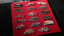 Mitsubishi collector pin set dans étui Cars 17 pièces dans étui écran rallye pajero