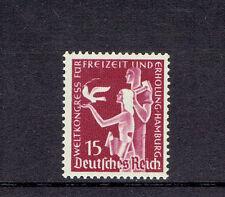 Dt. Reich ** MiNr  623 Weltkongress Für Freizeit Hamburg 1936