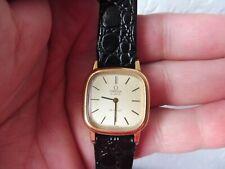 schöne, hochwertige Armbanduhr  , Omega ,  DE VILLE ,   mit Druckmechanismus   !