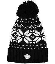Black Snowboard Ski Football Chunky Bobble Hat Qpr Fc Thick Wooley hat