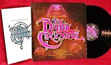 OST LP THE DARK CRYSTAL TREVOR JONES 1982 WARNER BROS. W/ INSERT POSTER NM