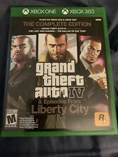 Grand Theft Auto IV: The Complete Edition (Microsoft Xbox 360 And Xbox One)