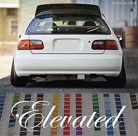 Elevated Sticker Vinyl Decal Windscreen Sticker JDM Car Sticker For Honda Acura
