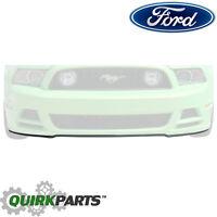 2013-2014 Ford Mustang GT V6 Front Bumper Valance Panel Spoiler OEM DR3Z17D957AA