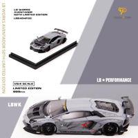 LB WORKS 1:64 Lamborghini LP700 LB AVENTADOR 50TH Limited Edition Gray Car Model