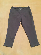 Womens Reebok Crossfit Shorts Capri Tight Fit Grey. Size XS New Without Tags