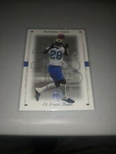 MARSHALL FAULK 1999 SP AUTHENTIC EXCITEMENT #D 58/250 RAMS